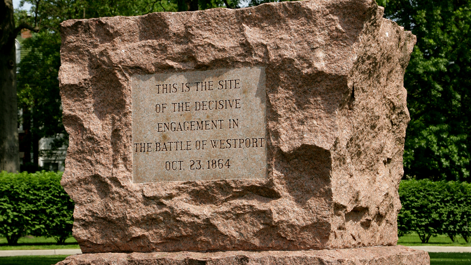Battle Of Westport Monument