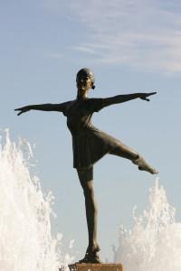 Children's Fountain Ballerina