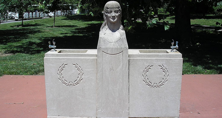 Mary A. Fraser Memorial Drinking Fountain