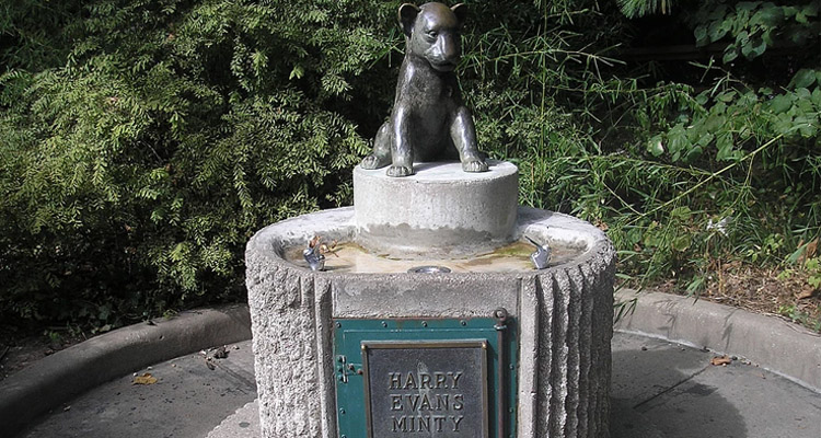 Harry Evans Minty Memorial Fountain