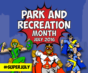 This July, KC Parks Will Discover the Super Powers of Parks and Recreation