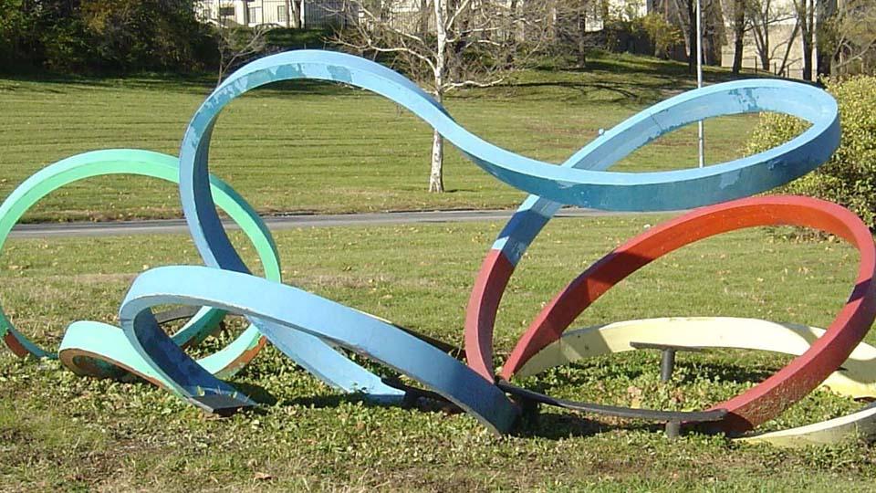 Twisting Steel Ribbon