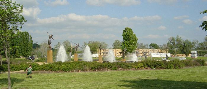 Waterworks Park Fountain