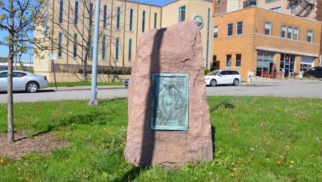 Westport Memorial Marker