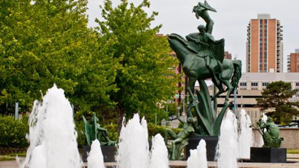 William Volker Memorial Fountain