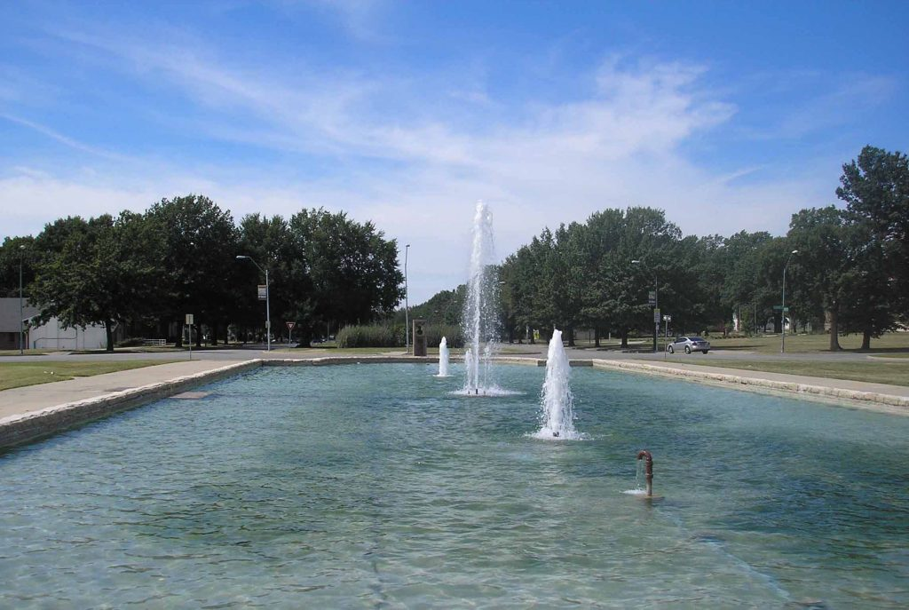 Delbert J. Haff Circle Fountain