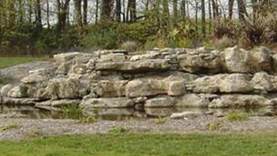 Shoal Creek Golf Course Entry Fountain