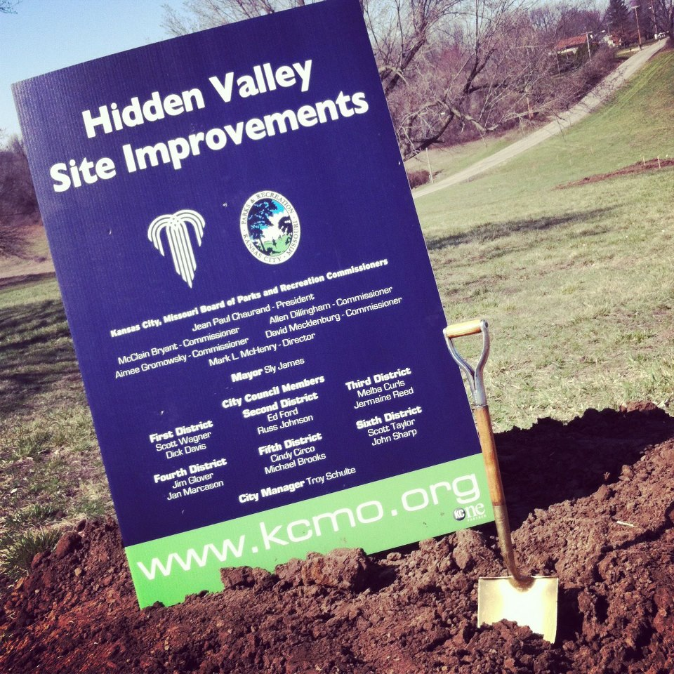Groundbreaking Held for Hidden Valley Park Improvements