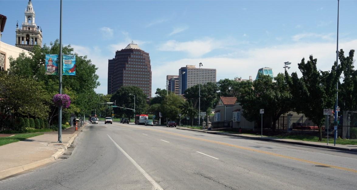 J.C. Nichols Parkway Bikeway