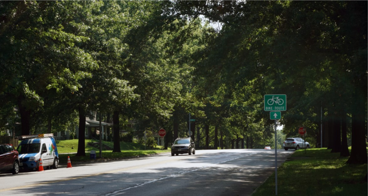 Meyer Boulevard Bikeway