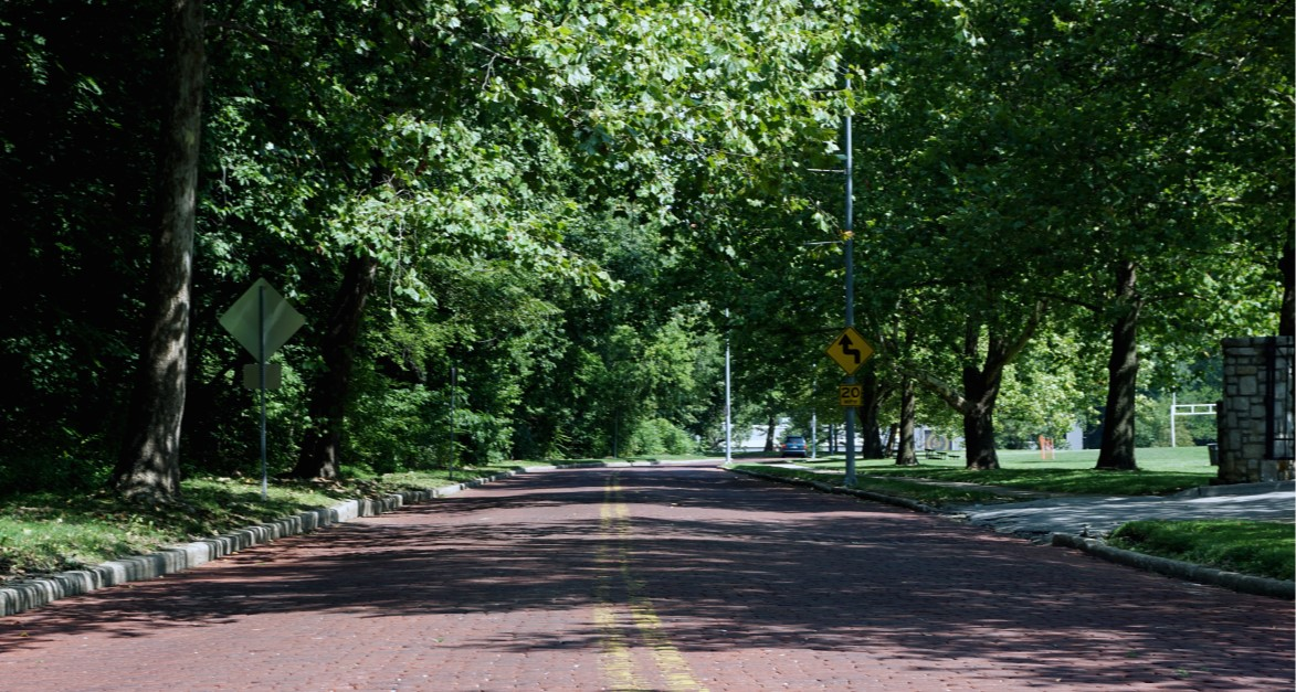 Roanoke Park Bikeway