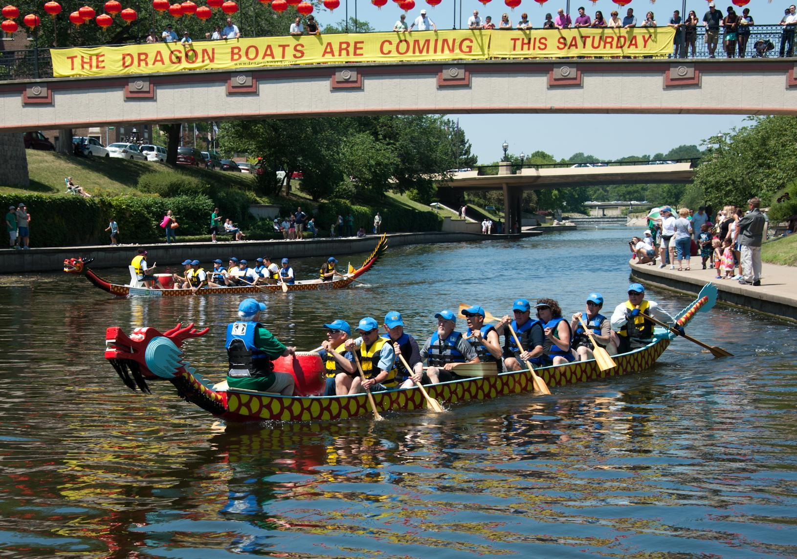Dragon Boat Races this Saturday!