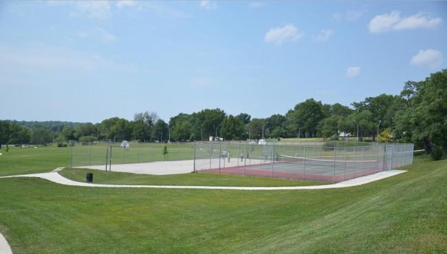 Wilbur H. Dunn Park Tennis Courts