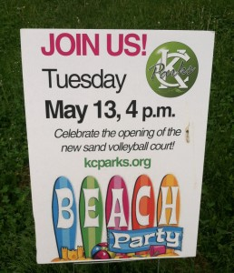 BeachParty Sign