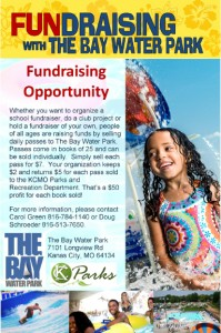 The Bay Fundraising sheet
