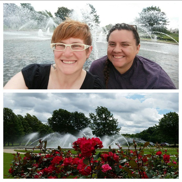 We filmed at the Northland Fountain the other day. Look for it on the @X37Adventures vlog in the near future!  Watch! Like! Subscribe! Share!