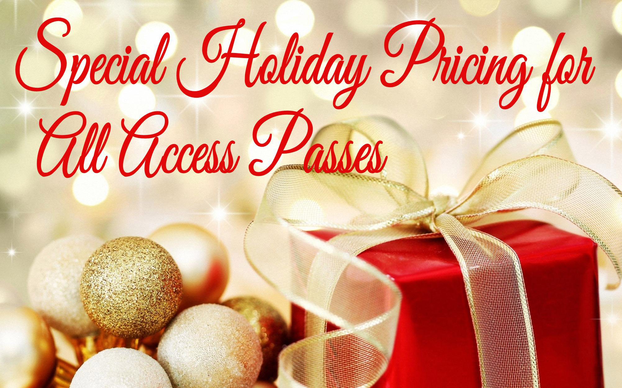 Holiday Pricing on #KCParks All Access Annual Passes Begins on Black Friday