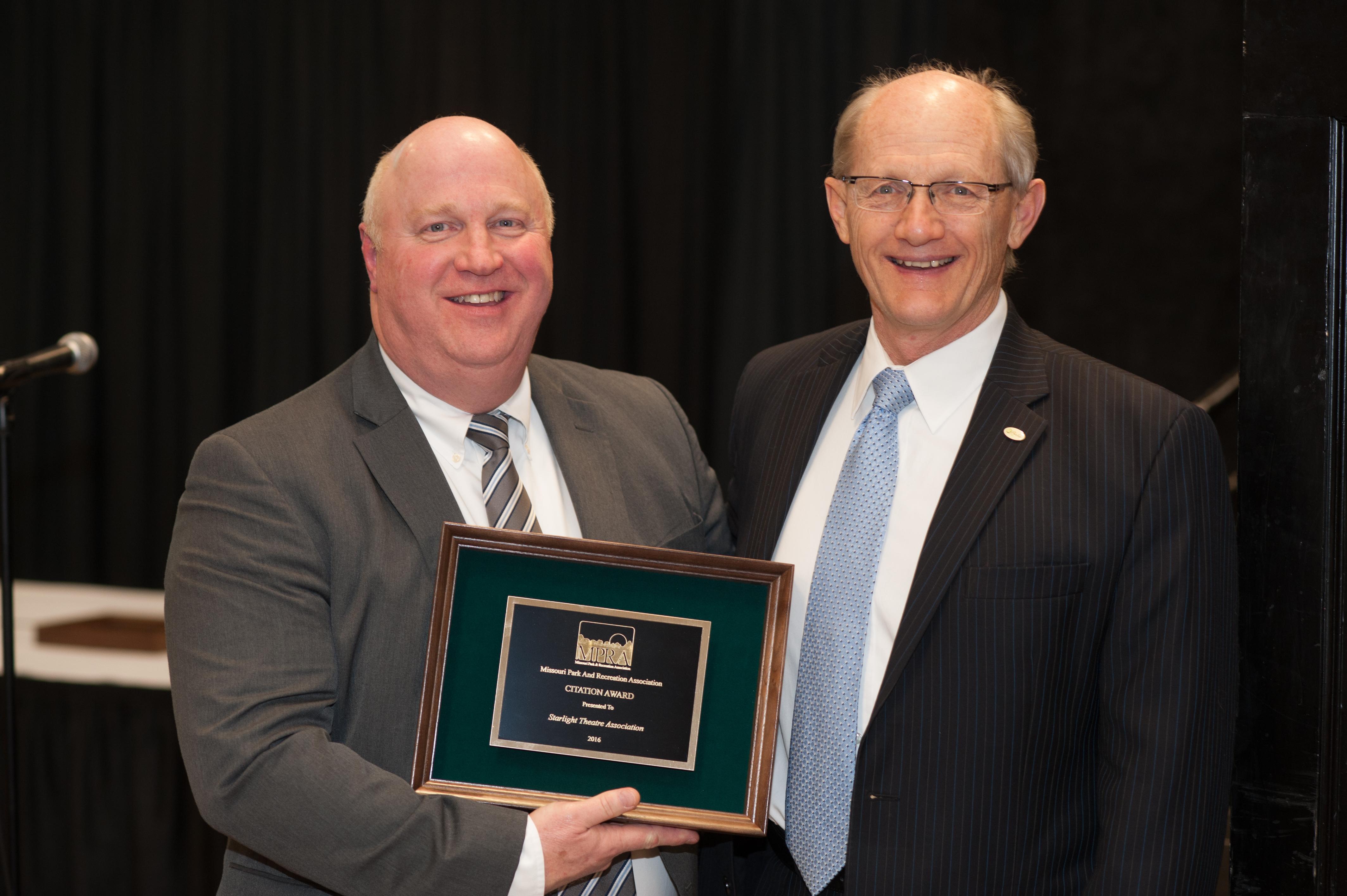 Starlight Theatre Association Receives MPRA Citation Award