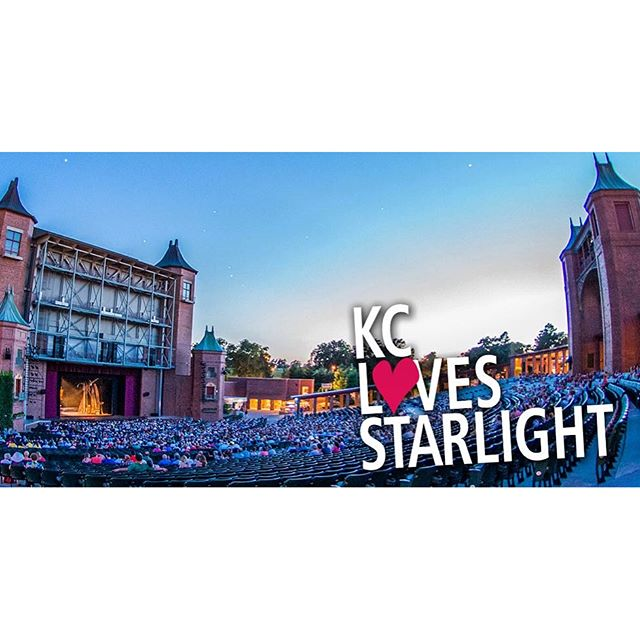 #KCParks is thrilled to have Starlight Theatre in Swope Park. #KCLovesStarlight