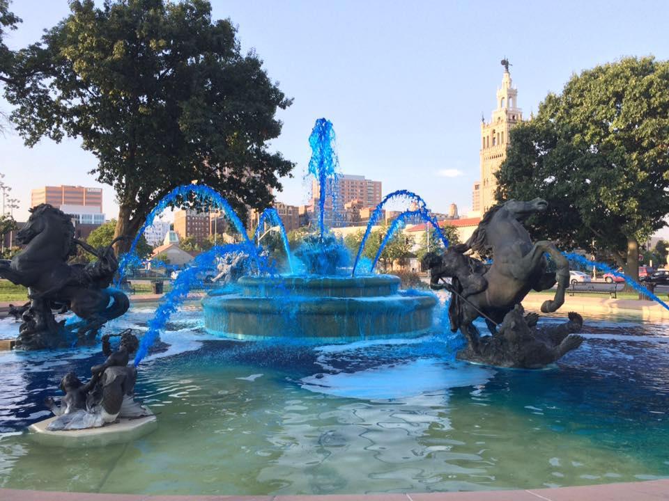 KC Celebrates Week In Blue