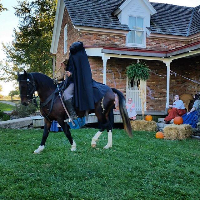 {Throwback Thursday} #KCParks Shoal Creek Living History Museum's Fright Night circa 2014 #HeadlessHorseman #TBT This year's event is Saturday night. More at Kcparks.org #throwbackthursday