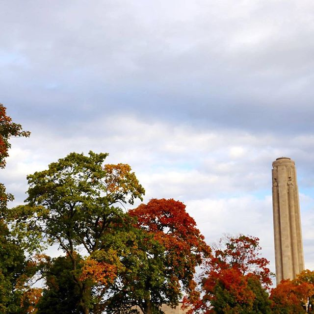 Fall leaves are at their peak this weekend in Kansas City and the weather is going to be beautiful! Get outside and enjoy your #KCParks!