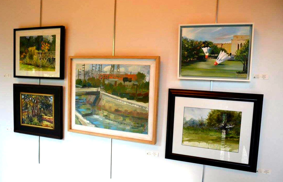 Brush Creek Art Walk Exhibition