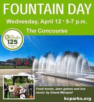 The countdown begins! #CityOfFountains #FountainDay2017 #KCParks125 #GrandMarquis #HistoricNortheast