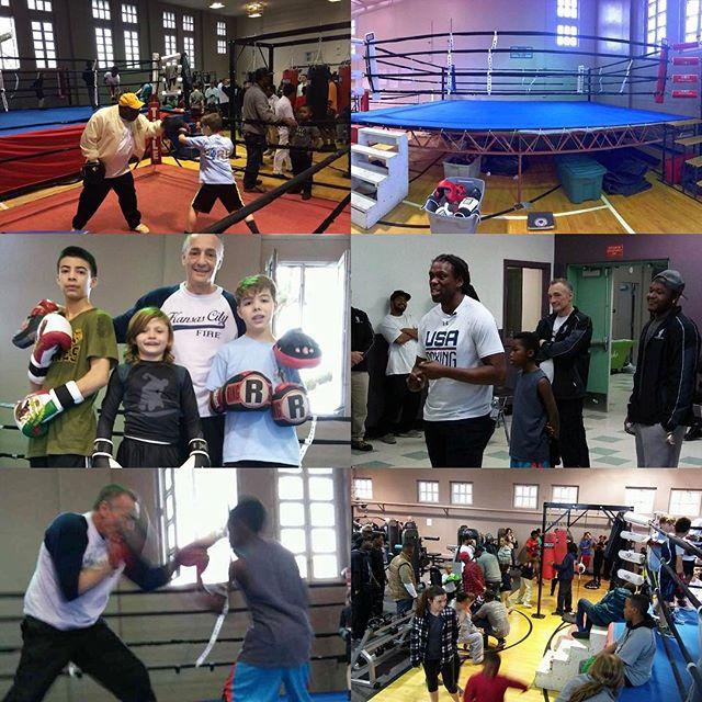 KC #GoldenGloves #KCParks Garrison Community Center's #Boxing Center opening! @kcgloves @camfawesome