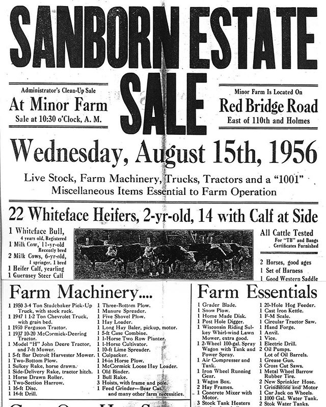 {Throwback Thursday} MINOR PARKWhen Marie Minor Sanborn (Mrs. Thor Sanborn) died in 1941, she bequeathed about 200 acres of the farm that she and her husband owned just south of Kansas City around 110th St. (Red Bridge Rd.) at Holmes to the city of Kansas City as a park upon her husband's death. Mrs. Sanborn indicated that the park be named for her father Dr. William E. Minor who had owned the property and had been a surgeon in Kansas City, and that the city would be required to spend $2,500 annually for ten years on the property. The acreage was located outside the Kansas City city limits.After Thor Sanborn died in March 1956, the property was turned over to the city on September 1, 1956. The extension of the city limits of Kansas City in 1958 brought the property into the city of Kansas City. Work began on developing a golf course in 1965 and the golf center was dedicated on June 24, 1967.A history of the property shows that the Santa Fe Trail passed through part of what is now Minor Park.#KCParks125 #KCParks #TBT #FromTheArchives #ThrowbackThursday