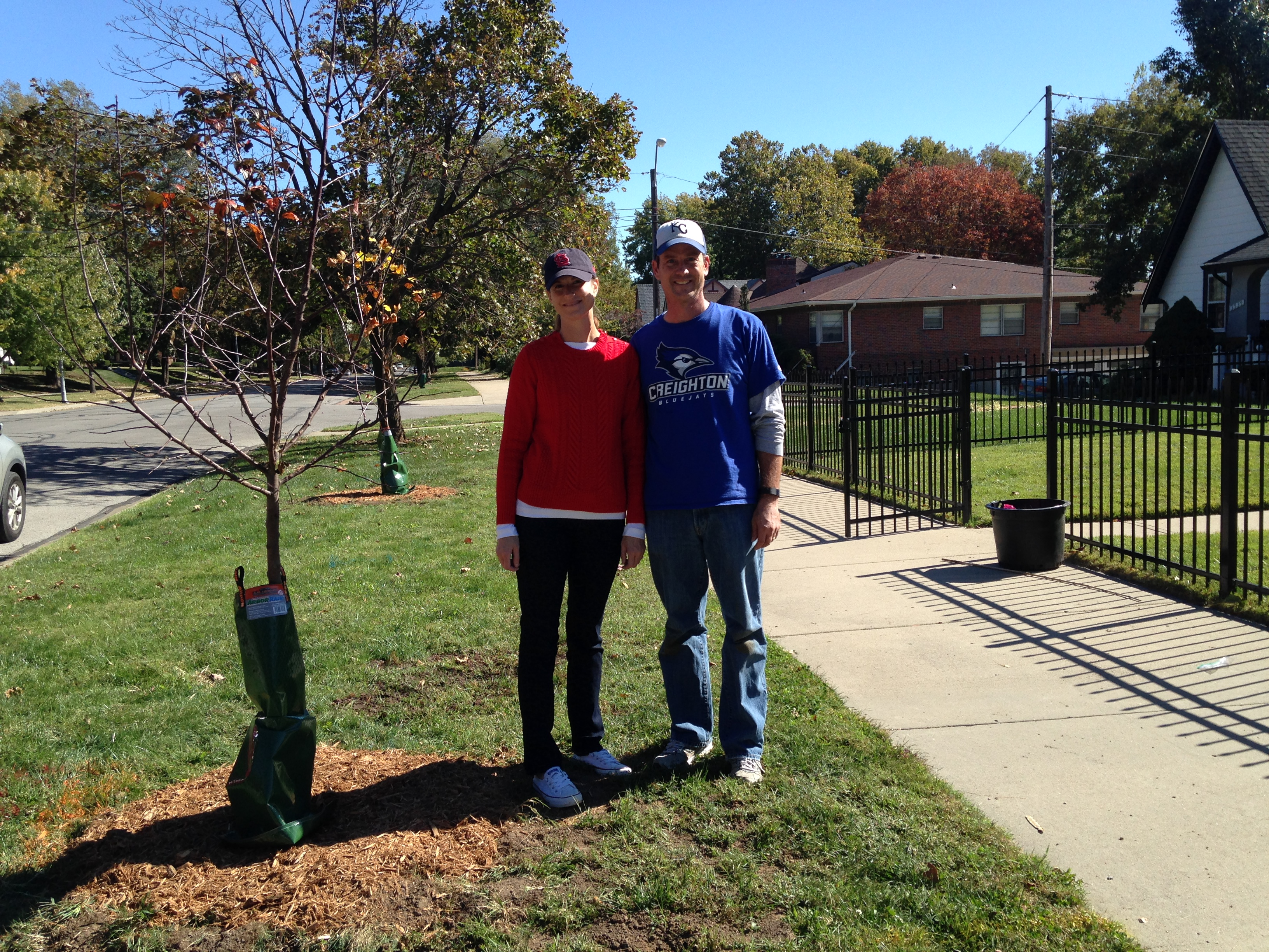KANSAS CITY, MISSOURI RESIDENTS RECEIVE A FREE STREET TREE