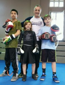 boxing kids