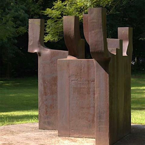Loose Park Wall Fountains (Adam and Eve)