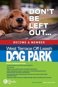 Dog Park Benefits Poster