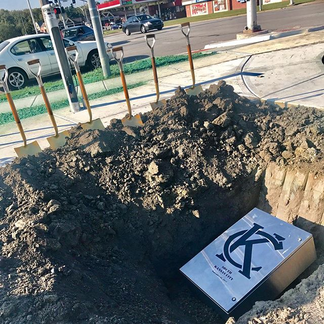 Time capsule ready to be buried! #KCParks #SouthKC