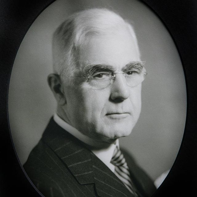 """HARRY E. MINTY (1942-48) #57As part of #KCParks125, we are featuring all 104 Park Board Commissioners in order of their service.Harry Evans Minty (1869-1955) was born in Michigan.  His father, Robert Horatio George Minty, was a notable cavalry commander in the Union Army.  Along with significant contributions in several battles, Colonel, later Commander, Minty's regiment captured Confederate President Jefferson Davis in Georgia after the War, although Commander Minty was not present at the time.Harry Minty moved to Minneapolis, Minnesota and worked at a bank. Coming to Kansas City around 1900 he went into the insurance business. Harry Minty married Lavinia Tough in 1912.  They had one daughter, Harriet. Along with his insurance business, Mr. Minty was involved with several organizations such as the Chamber of Commerce, the Knife and Fork Club, the Kansas City Country Club.  He was on the Board of the Provident Association for a number of years, which raised funds for charity.  He was also involved with the Citizens Association, a non-partisan political organization promoting open and honest government and broad participation in the political process. In 1942 Mayor John Gage appointed Mr. Minty to the Park Board.  He became President of the Board in September 1944 upon the resignation of John Moore.  Mr. Minty was reappointed to the Park Board as President by incoming Mayor William Kemp in 1946.  Mr. Kemp later called Mr. Minty """"…one of the most unselfish citizens from the standpoint of what was good for Kansas City that I have ever known."""" [KC Star Aug. 8, 1955]  Mr. Minty indicated his desire to resign from the Park Board in December 1947 but continued to serve on the Board as President until July 1948 at the request of the Mayor.  When he left the Park Board the Kansas City Star commended Mr. Minty in handling Park Department business and keeping party politics out of the department.Mr. Minty continued working in the insurance business until his health declined.  """