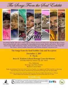 Songs From the Soul Gala flyer