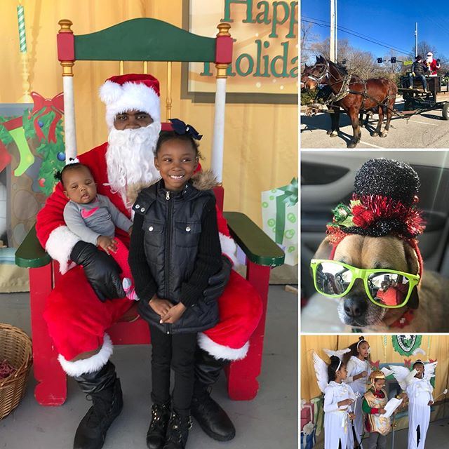 It was a great day at The Bay! #SantasWonderland #SouthKC #KCParks #PuggleInThePark