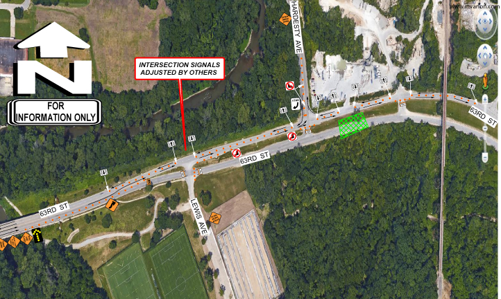 ROAD CLOSURE: Partial Closure of 63rd St. Trafficway