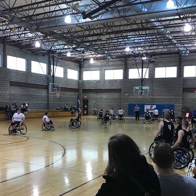 Happy to be hosting Midwest Adaptive Sports and their Midwest tournament with teams from 4 states!!! #KCParks