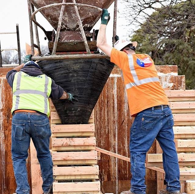 Renovation work continues on the Spirit of Freedom Fountain! Photos courtesy of JE Dunn Construction. #CityOfFountains #KCParks