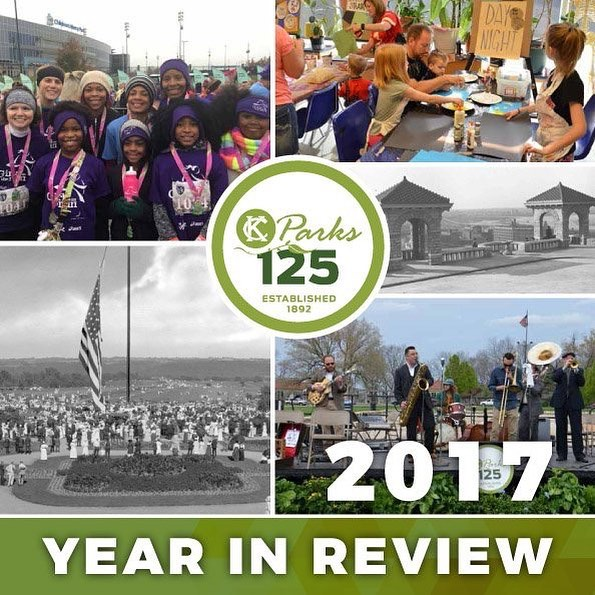 In 2017, Kansas City Parks and Recreation celebrated a milestone—our 125th anniversary! Fittingly, this past year was an exciting blend of old and new, traditional and topical. KC Parks continued doing what we do best while adding new initiatives, projects and events—all of which you can read about in our 2017 Year in Review. Visit kcparks.org/year-in-review #KCParks #KCParks125 #YearInReview #YearInReview2017