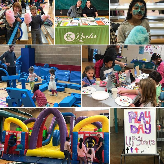 It's a great day to play with #KCParks! Spring Play Day goes until 2p at Tony Aguirre Community Center! #KCParks #WhereKCPlays #Free #Family #Fun