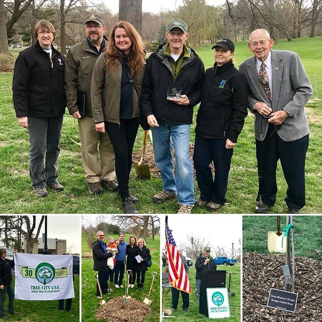 ‪Celebrating #KCMO 30 years as a #TreeCityUSA #ArborDay2018 at #KCParks Loose Park #WhereKCPlays