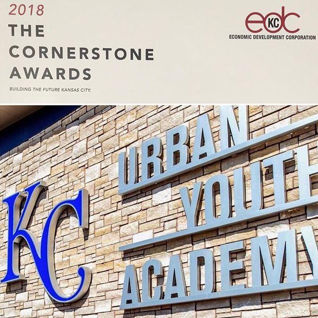 KC Urban Youth Academy wins #EDCKC 2018 Cornerstone Award  #KCParks #WhereKCPlays
