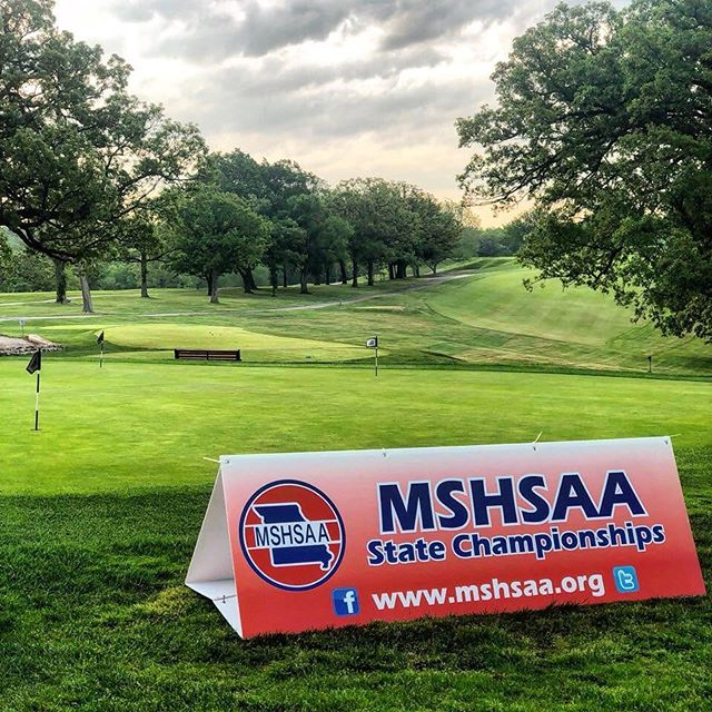 Happening now in Swope Park! Getting ready to kick off the 2018 Class 4 Boys Golf Missouri State Championships! #KCParks #WhereKCPlays