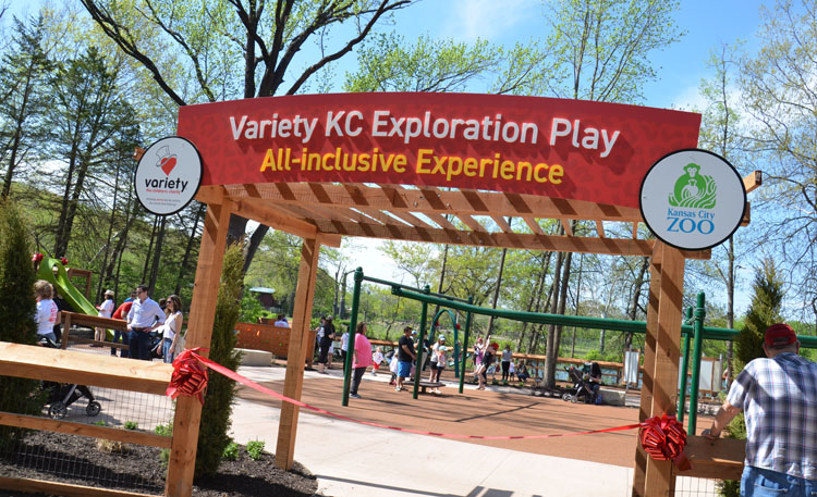 Variety KC Exploration Play Opens at the Kansas City Zoo