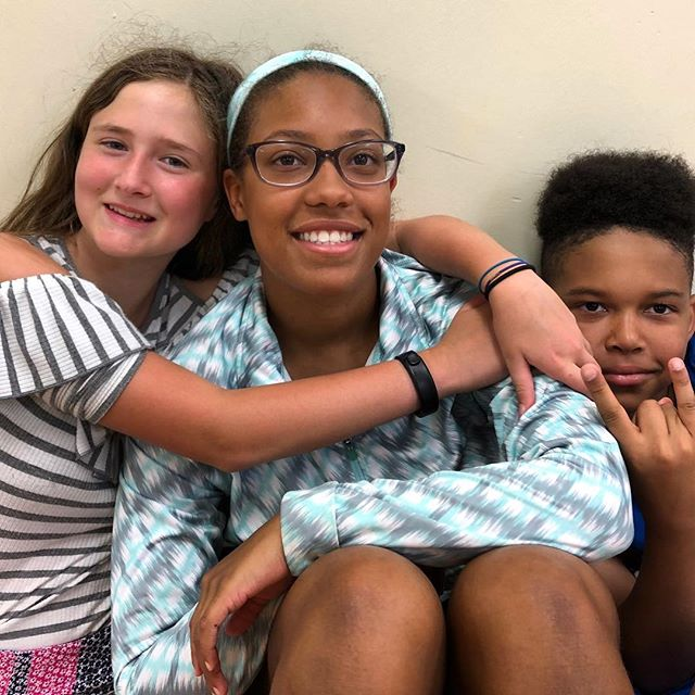 Amari spends her time playing with her friends at KC Park Community Centers!#DiscoverJuly #KCParks #WhereKCPlays