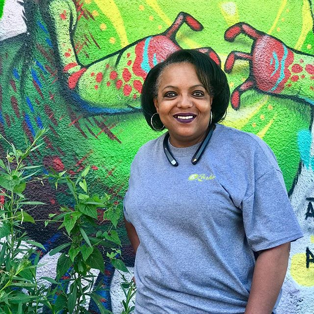 """During Park and Recreation Month we are focusing on our employees by featuring a #PlayerOfTheDay each day of July. #DiscoverJuly #KCParks #WhereKCPlaysKim Keeling, Administrative Assistant-Central District, 27.5 years with KC Parks """"I like that we provide human service. I believe in the benefits, that we all as KC residents receive, through the necessary services provided through our department. Whether it be through recreational programs, a clean shelter or snow removal we all tend to be a bit safer, healthier and happier because of Kansas City Parks & Rec."""""""
