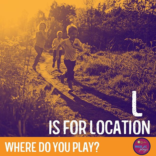 """July is Park and Recreation Month! Celebrate playing with #KCParks each week during the month of July with a new theme. This week's theme is """"L is for Location"""". Where do you play? #WhereKCPlays #DiscoverJuly"""